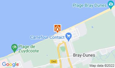 Kaart Bray-Dunes Villa 117818