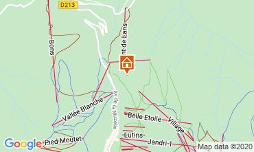 Kaart Les 2 Alpes Chalet 33878