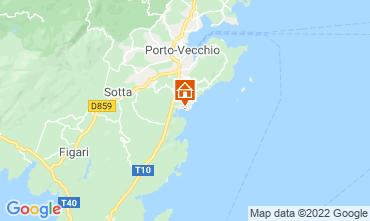 Kaart Porto Vecchio Villa 40852