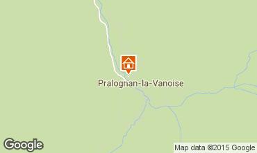 Kaart Pralognan la Vanoise Appartement 48499
