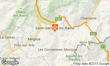 Kaart Saint-Gervais-les-Bains Appartement 2577