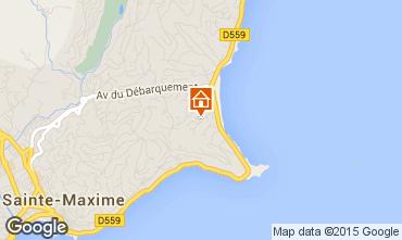 Kaart Sainte Maxime Huis 8531