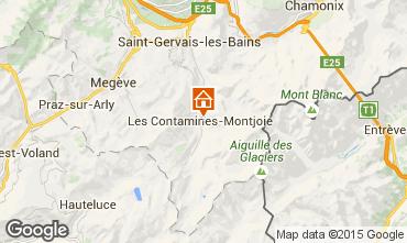 Kaart Les Contamines Montjoie Chalet 27332