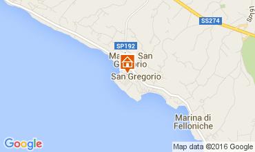 Kaart Santa Maria di Leuca Huis 104045