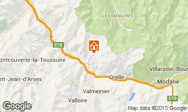 Kaart Saint Jean de Maurienne Vakantiehuis 68664