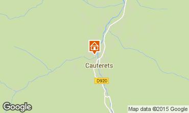 Kaart Cauterets Appartement 4059