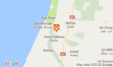 Kaart Agadir Villa 113551