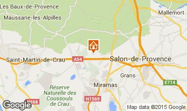 Kaart Salon de Provence Vakantiehuis 77630