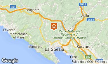 Kaart La Spezia Villa 78765
