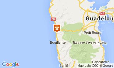 Kaart Bouillante Vakantiehuis 103675