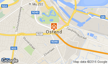 Kaart Oostende Appartement 75999