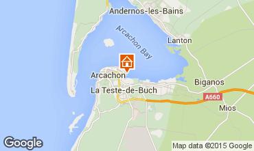Kaart Arcachon Appartement 81764