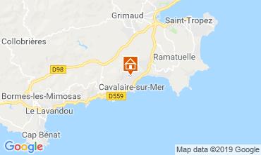 Kaart Cavalaire-sur-Mer Villa 118273