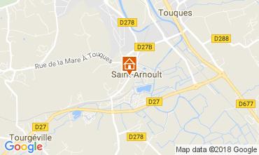 Kaart Deauville Stacaravan 7634