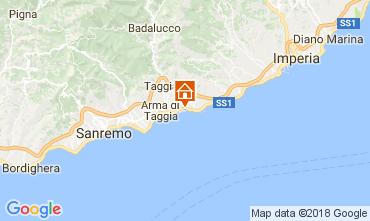 Kaart Santo Stefano al Mare Studio 112994