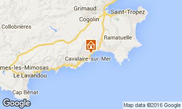 Kaart Cavalaire-sur-Mer Appartement 102533