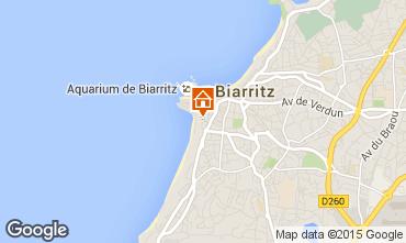 Kaart Biarritz Appartement 15275
