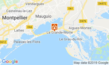 Kaart La Grande Motte Appartement 61785