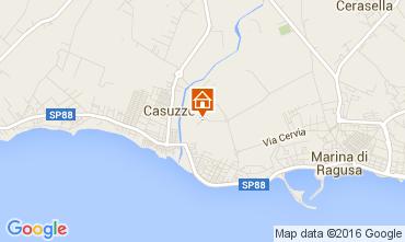 Kaart Marina di Ragusa Appartement 104383