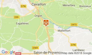 Kaart Eygalières Villa 76186