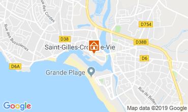 Kaart Saint-Gilles-Croix-de-Vie Huis 118736