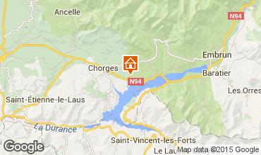 Kaart Réallon Chalet 2488