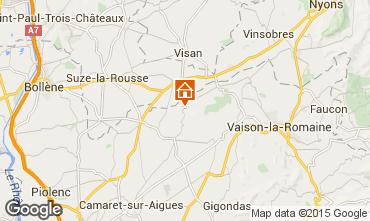 Kaart Vaison la Romaine Villa 85235