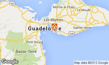 Kaart Gosier (Guadeloupe) Appartement 86341