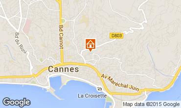 Kaart Cannes Appartement 59852