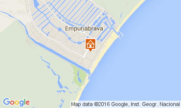 Kaart Empuriabrava Appartement 103925