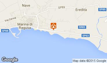 Kaart Marina di Ragusa Bungalow 94581