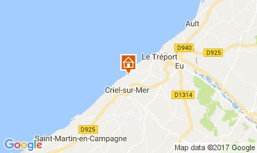 Kaart Le Tréport Huis 112767