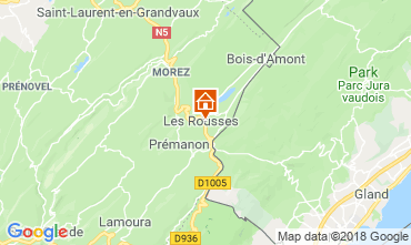 Kaart Les Rousses Appartement 117146