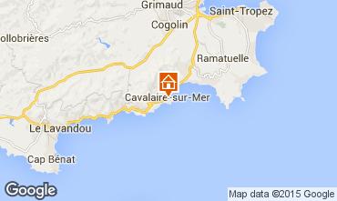Kaart Cavalaire-sur-Mer Appartement 76489