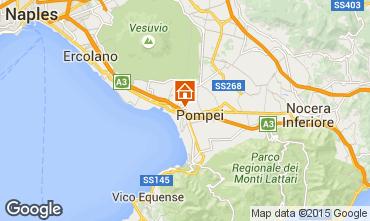 Kaart Pompei Appartement 26954