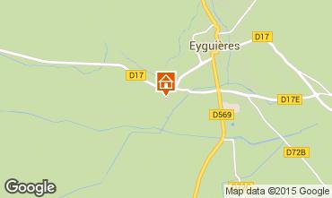 Kaart Eyguières Villa 92658