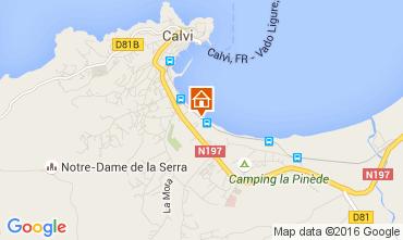 Kaart Calvi Studio 104525
