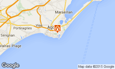 Kaart Cap d'Agde Appartement 85152