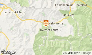 Kaart Pra Loup Chalet 2335