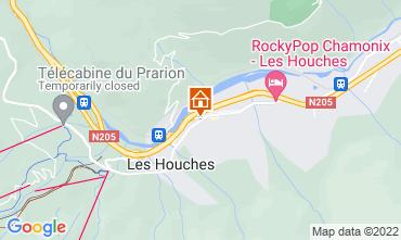 Kaart Les Houches Studio 1409