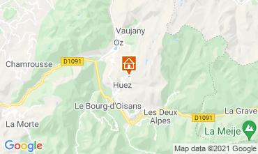Kaart Alpe d'Huez Studio 80613