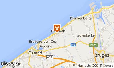 Kaart Oostende Appartement 86926