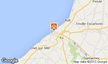 Kaart Mers Les bains Villa 74334