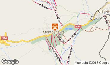 Kaart Montgenevre Huis 16964