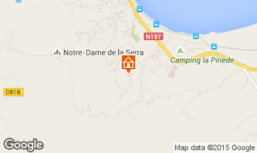 Kaart Calvi Villa 28209