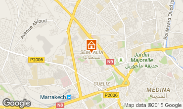Kaart Marrakech Appartement 85177
