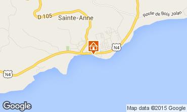 Kaart Sainte Anne(Guadeloupe) Appartement 73786