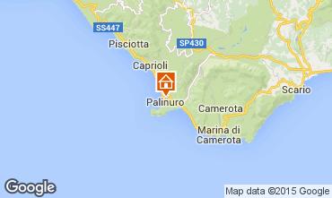 Kaart Palinuro Appartement 42608