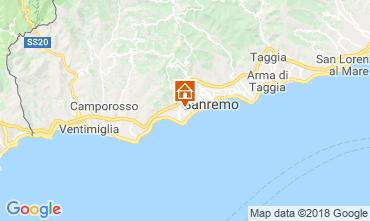 Kaart Sanremo Studio 105623