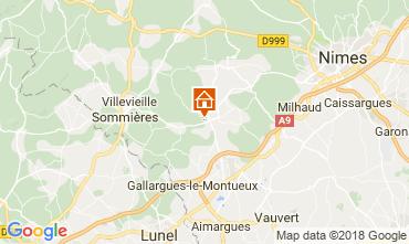 Kaart Nîmes Villa 114057